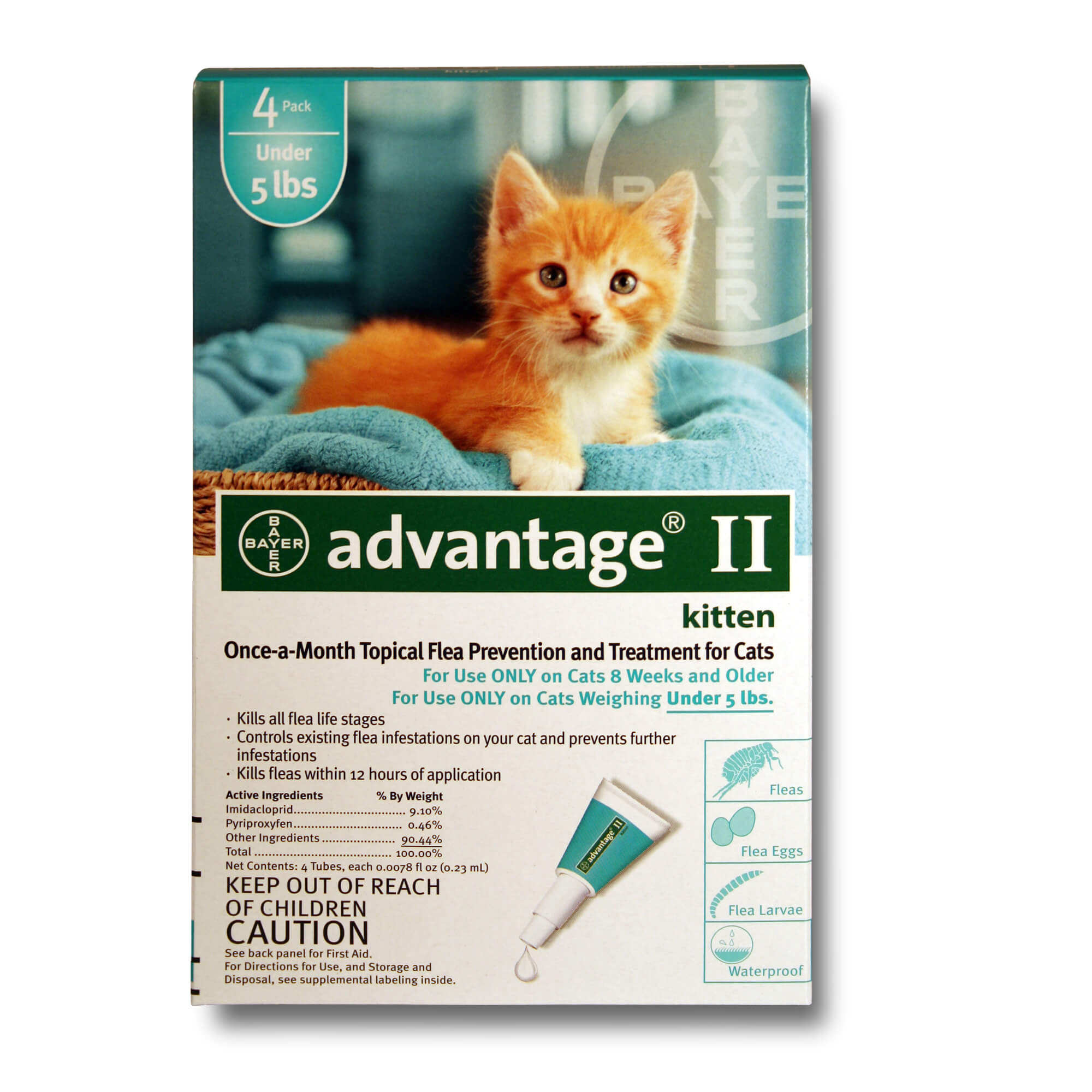 Advantage Kittens And Small Cats Bayer Info