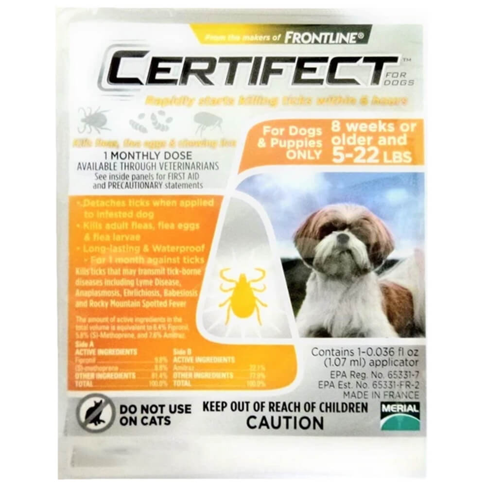 Certifect 5-22 lbs, Single (Yellow)