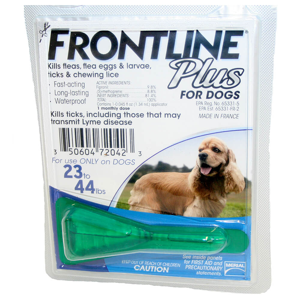 Frontline Plus Small Dogs Dosage