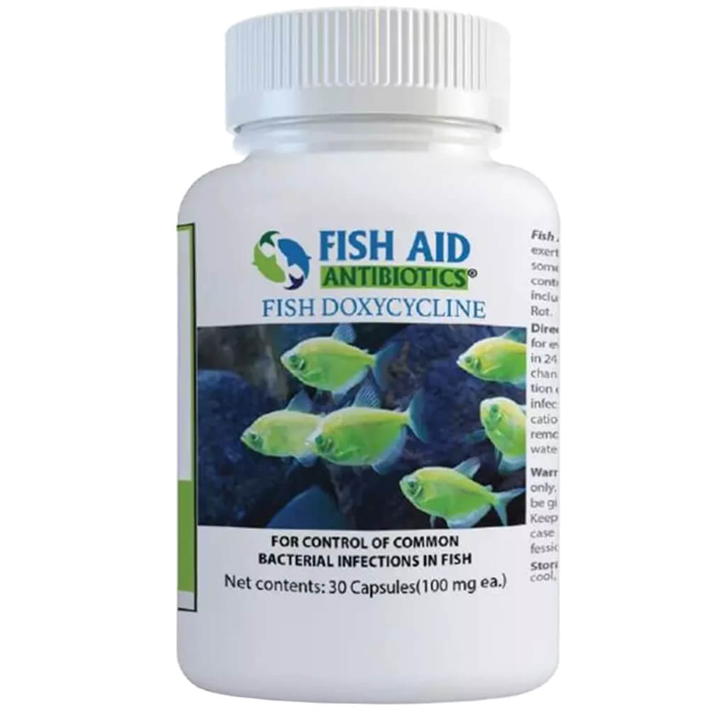 Fish Biotic Doxycycline 100 MG, 30 count