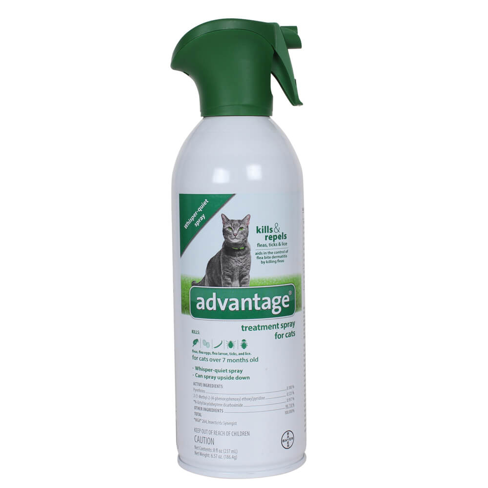 Advantage Treatment Spray Cat 8 oz.