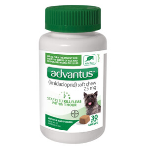 Advantus 7.5mg Small Dog 4-23 lbs 30ct
