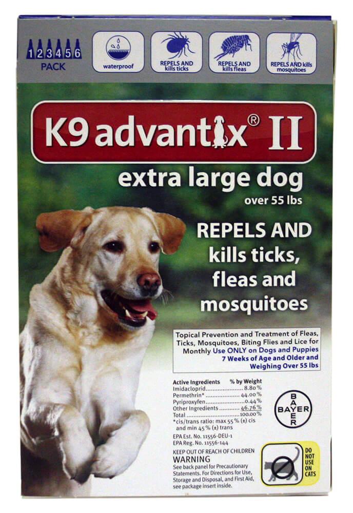 K9 Advantix Ii Flea And Tick Control For Dogs Vet Medicines 4 Less