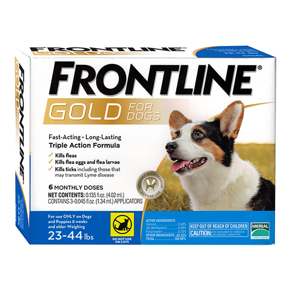 Frontline Gold for Dogs 6 Month