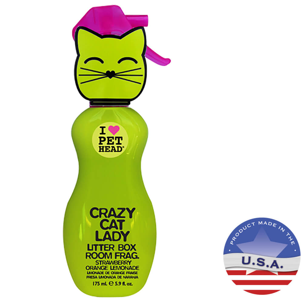 Pet Head Crazy Cat Lady Litter Box Room Fragrance