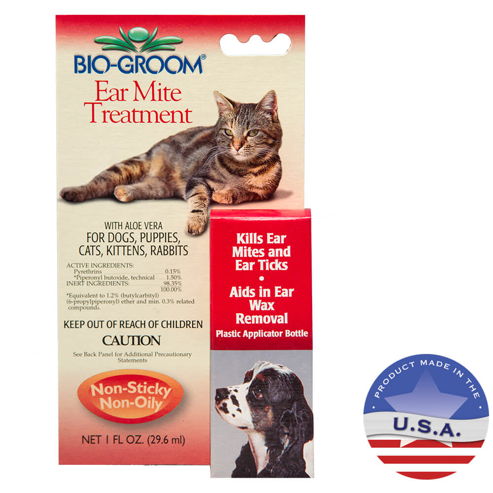 Bio-Groom Ear Mite Treatment, 1 oz
