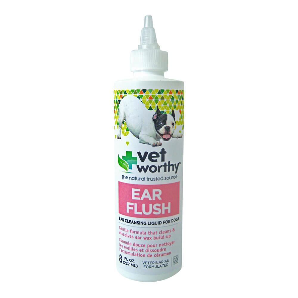 Vet Worthy, Ear Flush, for Dogs, 8 fl oz