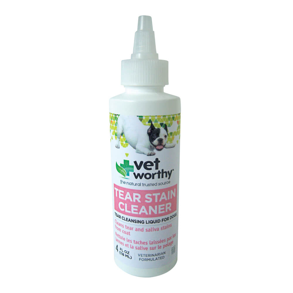 Vet Worthy, Tear Stain Cleaner, for Dogs, 4 fl oz