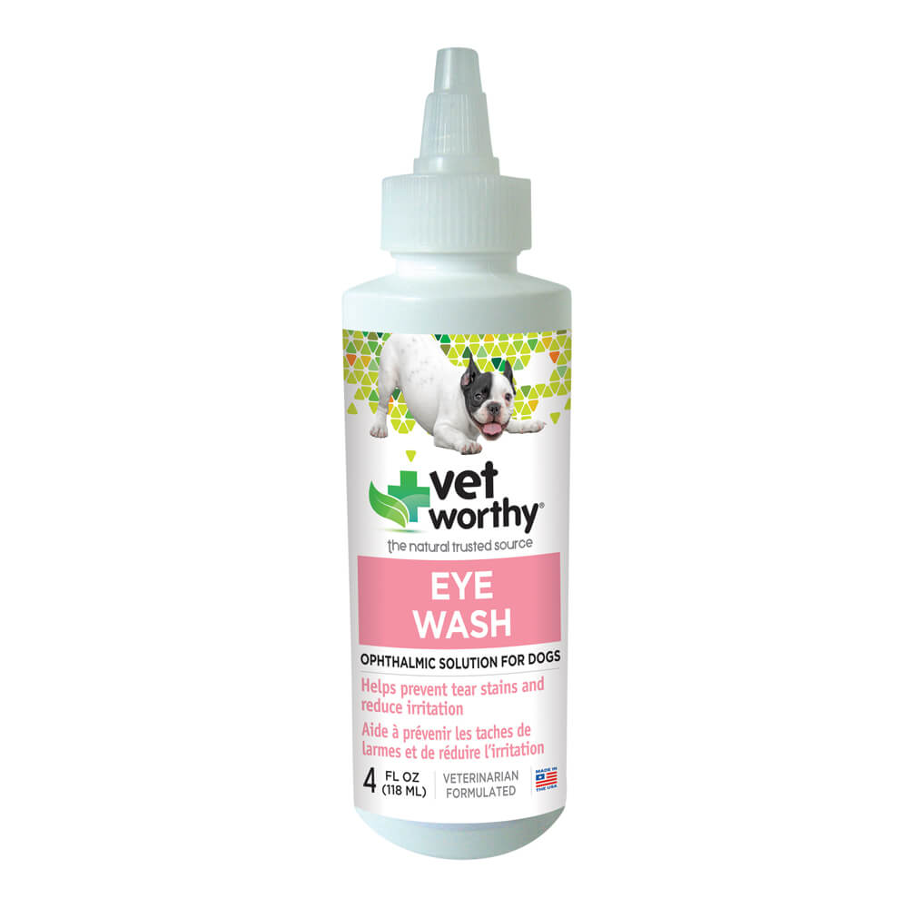 Vet Worthy, Eye Wash, for Dogs, 4 fl oz