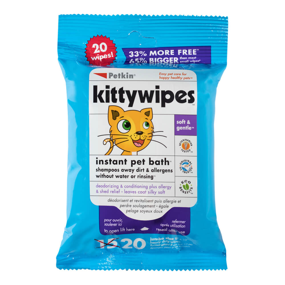 Kitty Wipes 20 Count