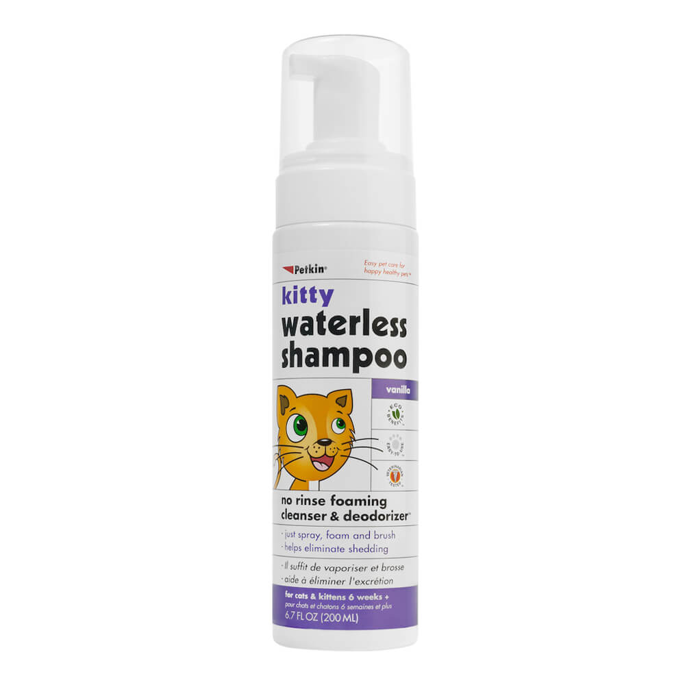 Kitty Waterless Shampoo, 6.7oz