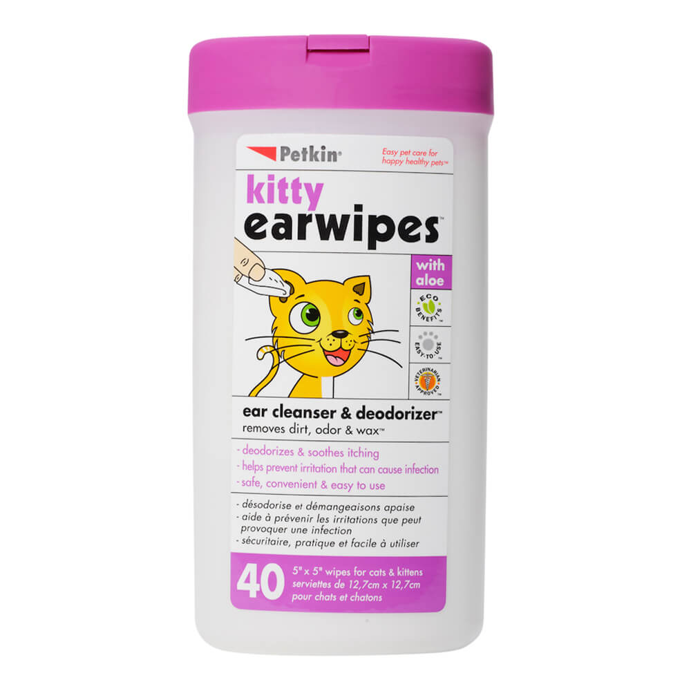 Kitty Earwipes 40 Count