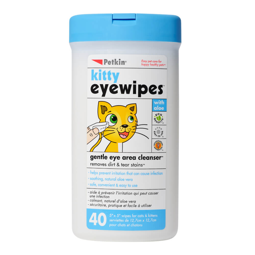 Kitty Eye Wipes 40 Count