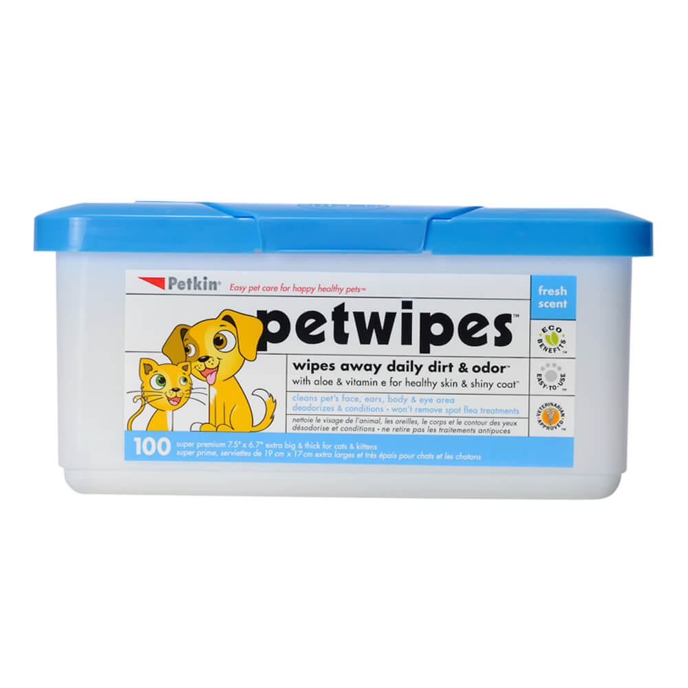 Pet Wipes 100 Count