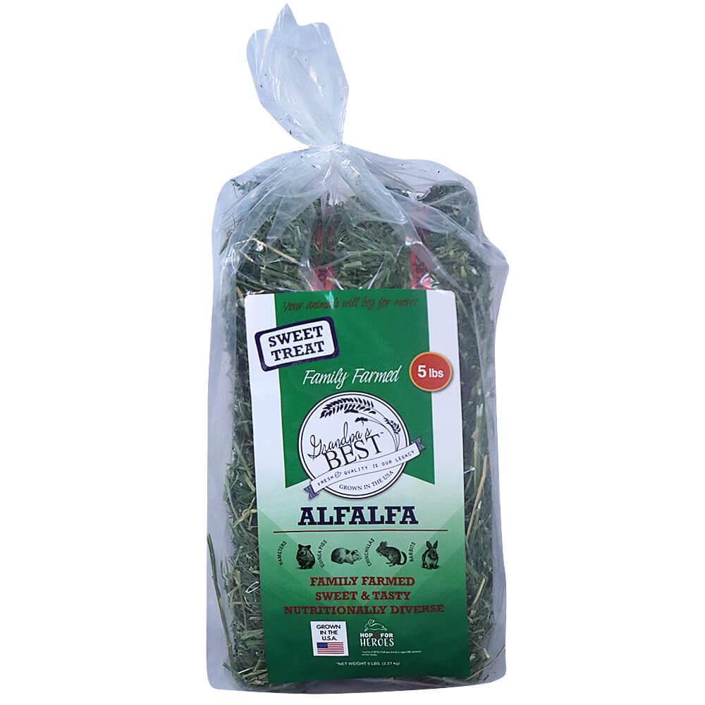 Alfalfa Hay Bale 5lb