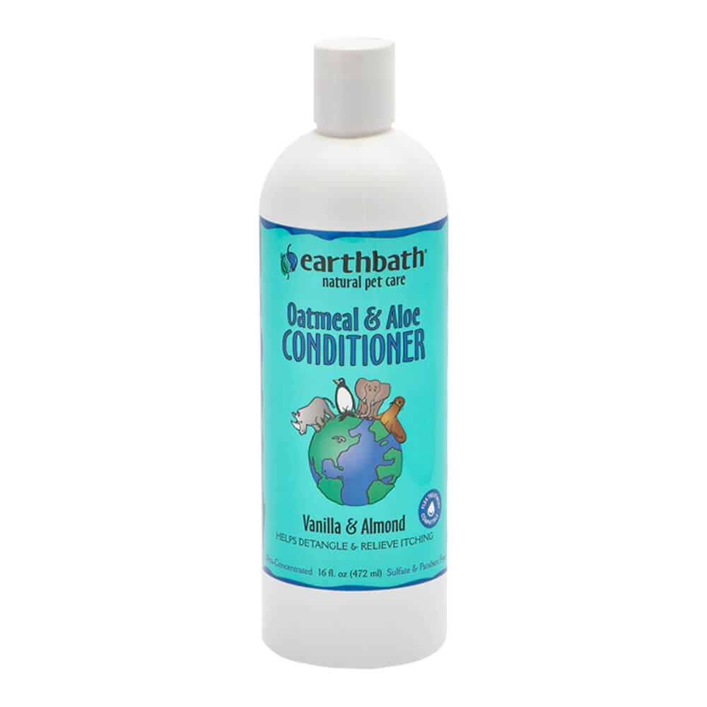Oatmeal Creme Rinse & Conditioner, Vanilla Almond Scent 16 oz