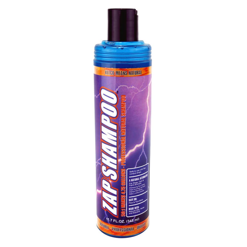 Kelco Zap Flea Shampoo 50:1 11 7 oz