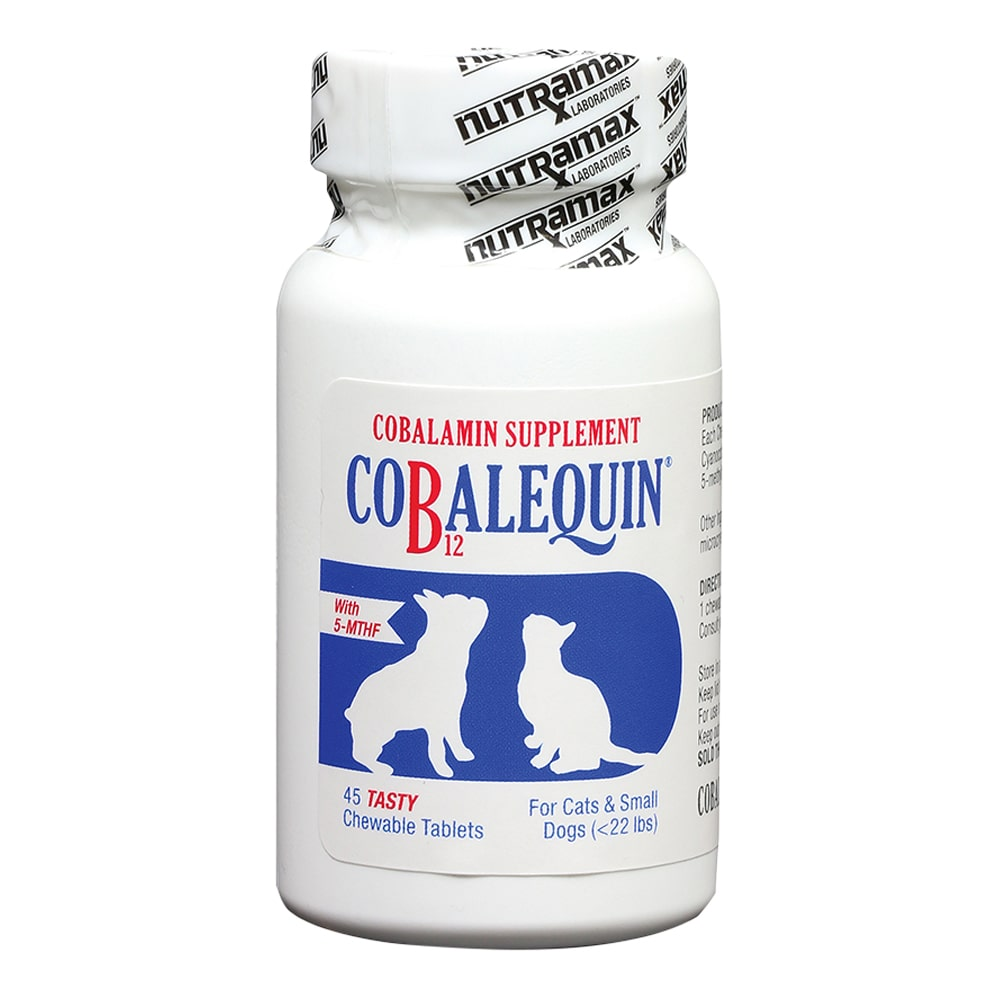 Cobalequin Chew Tabs 45 ct for Cats/Small Dogs (< 22 lbs.)