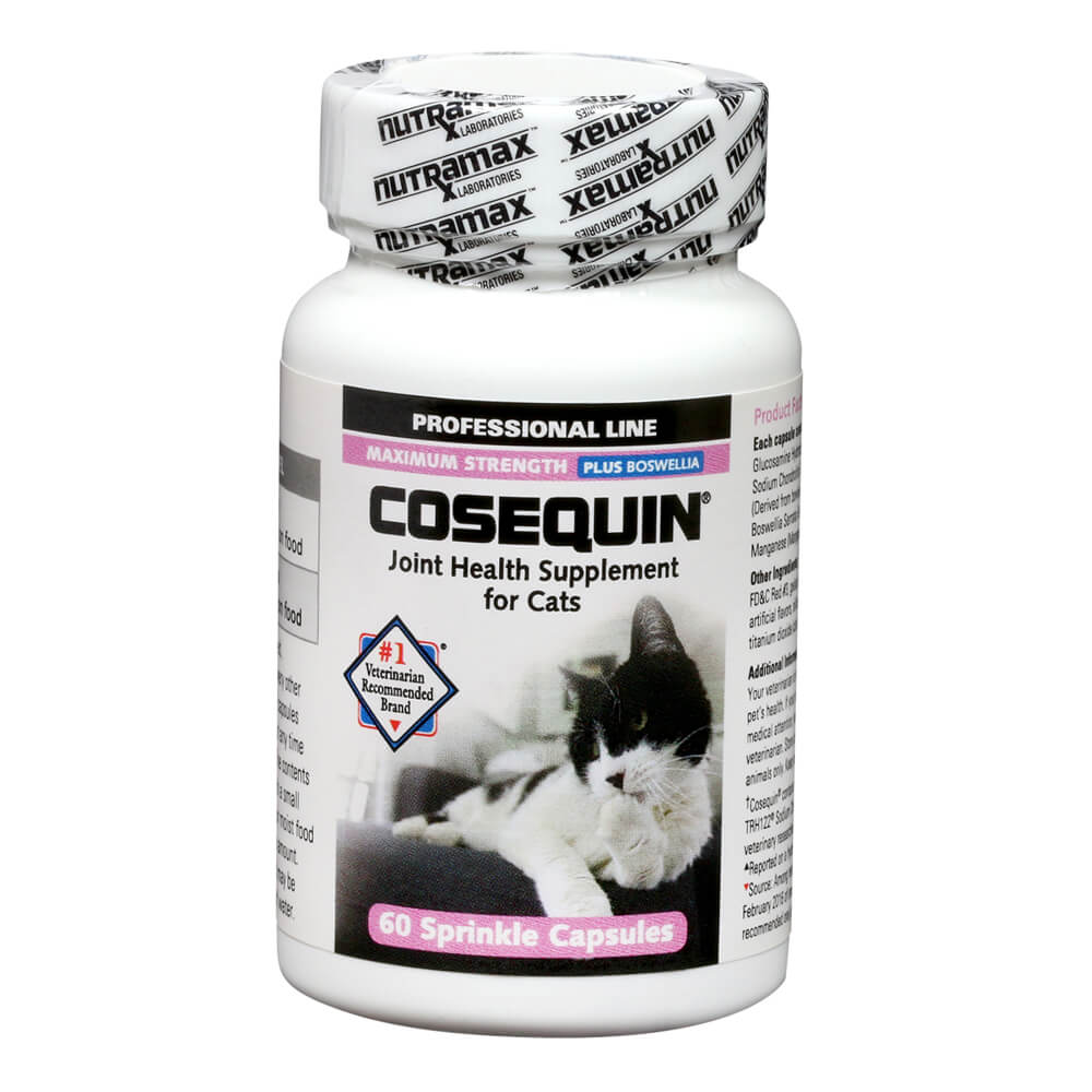 Cosequin for Cats, 60 Count Capsule, Professional