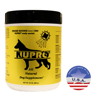 Nupro All Natural Dog Supplement, 30 oz Gold