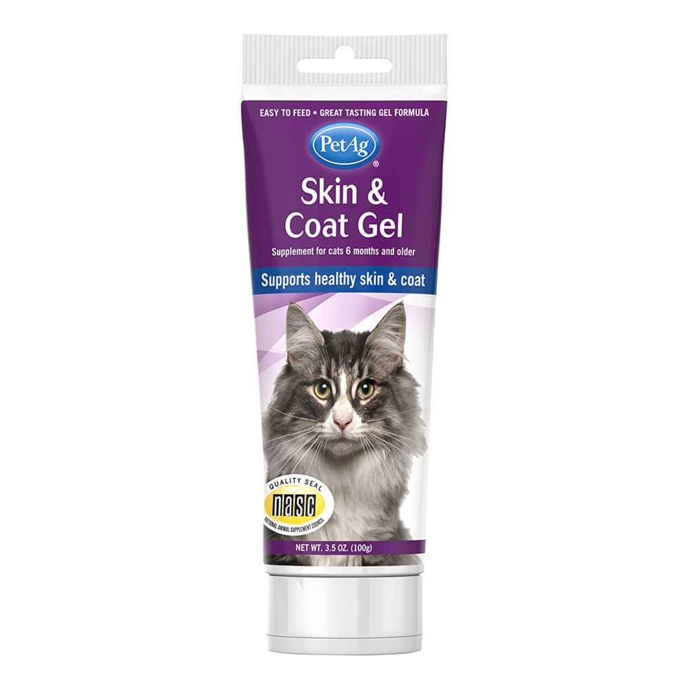Skin & Coat Gel for Cats 3.5oz