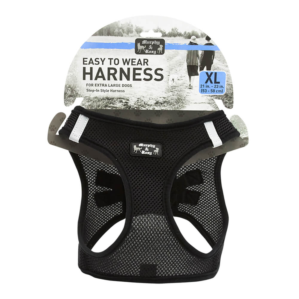 Harness Black X-Large 21-23in