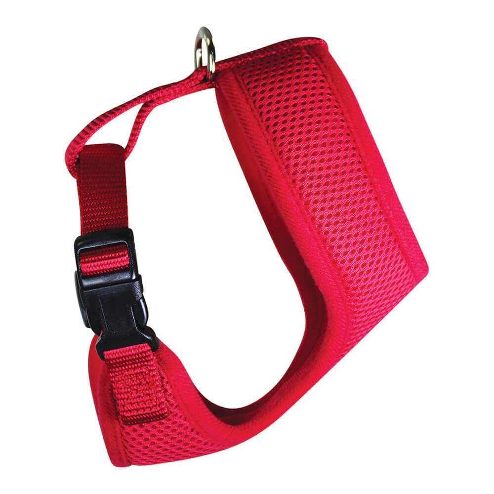 Chicken Mesh Harness, Small, Red
