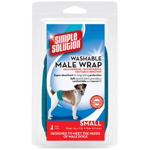 Simple Solution Washable Male Wrap, Large