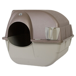 Roll'n Clean Self-Cleaning Litter Box Regular
