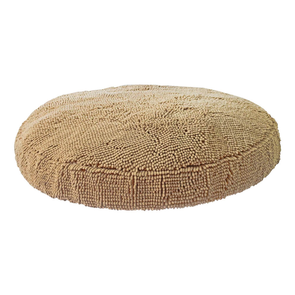 Soggy Doggy Super Snoozer Dog Bed Beige, 24