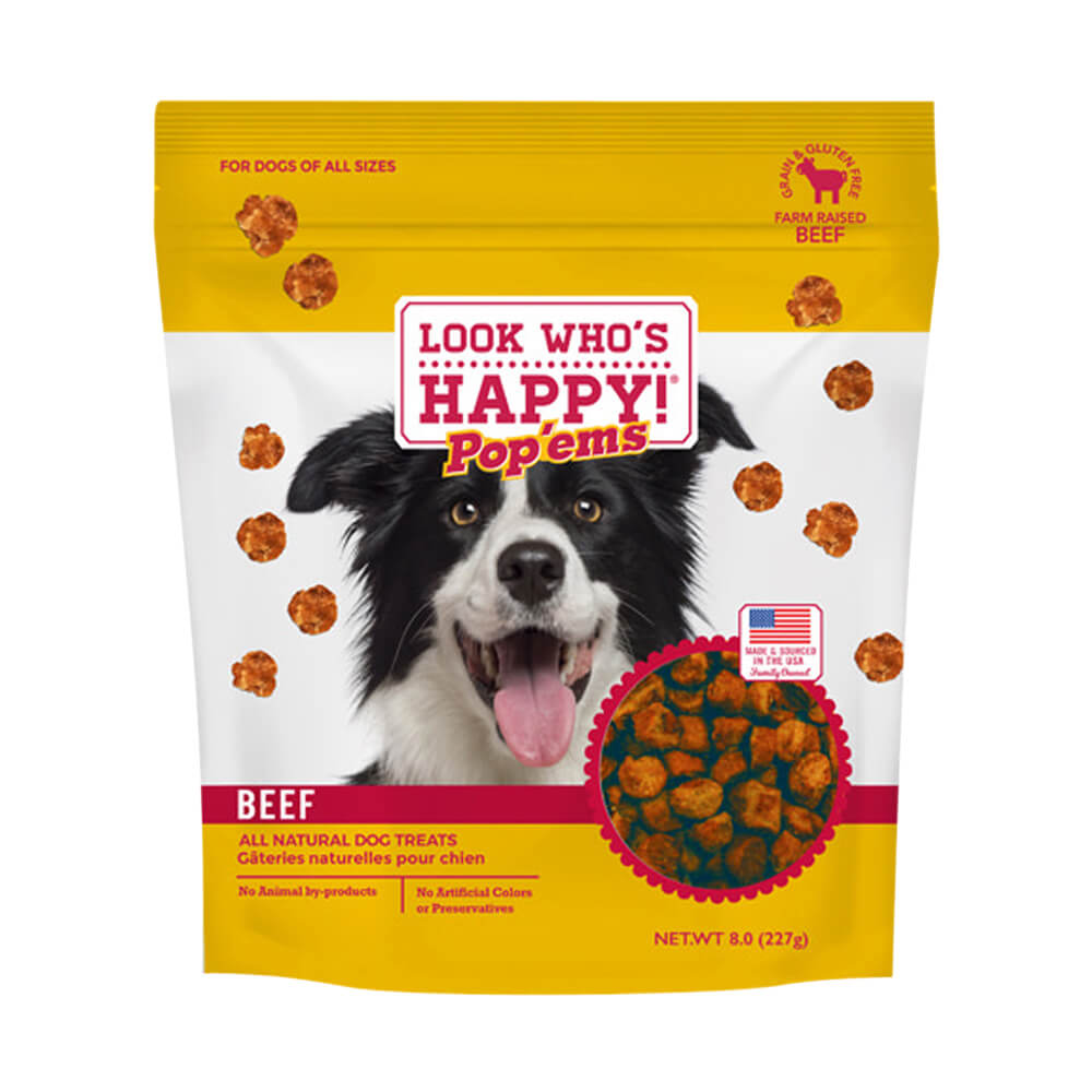 Pop'ems Beef Dog Treats