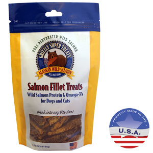Grizzly Super Treats Salmon Fillet Treats