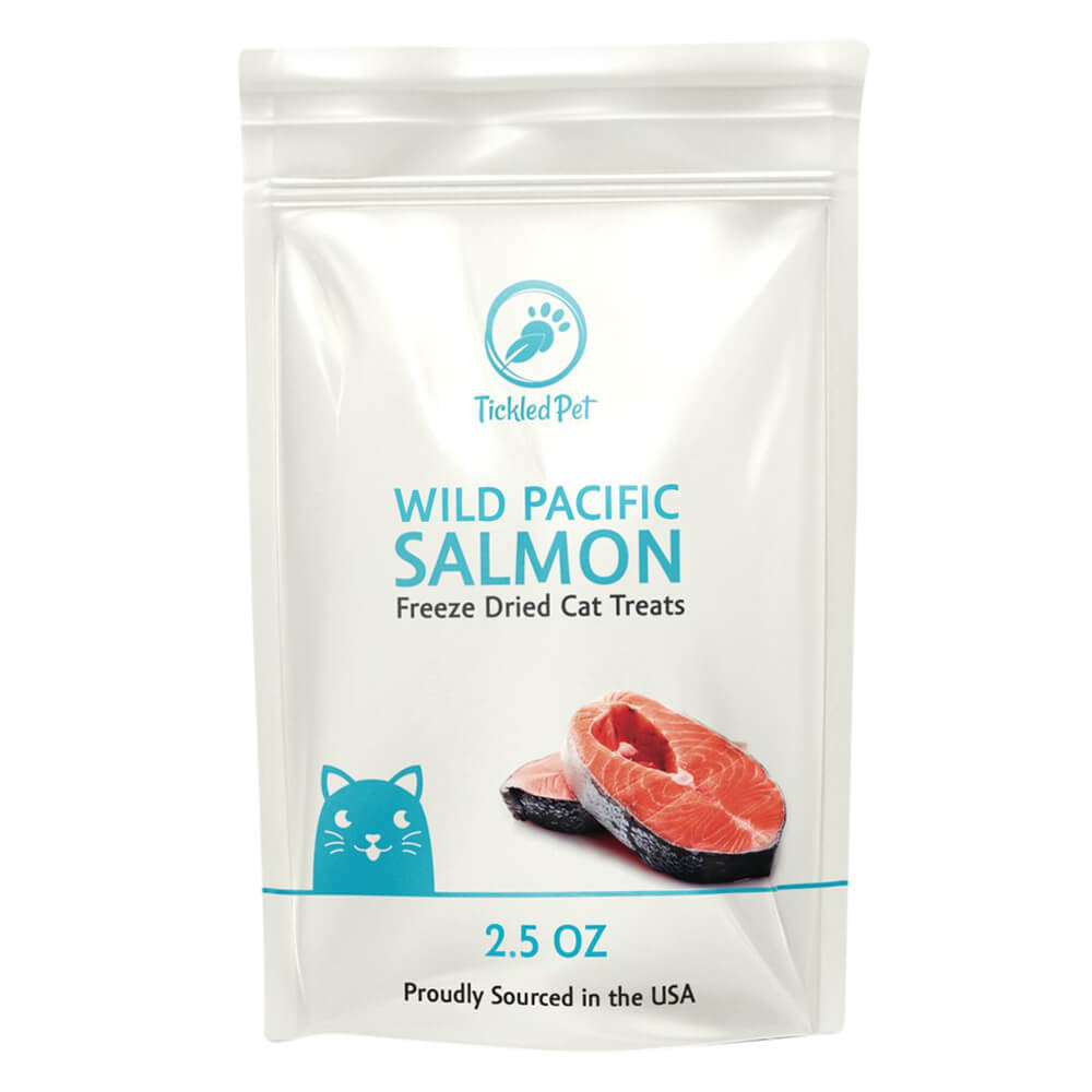 TickledPet Wild Pacific FD Salmon, 2.5 oz