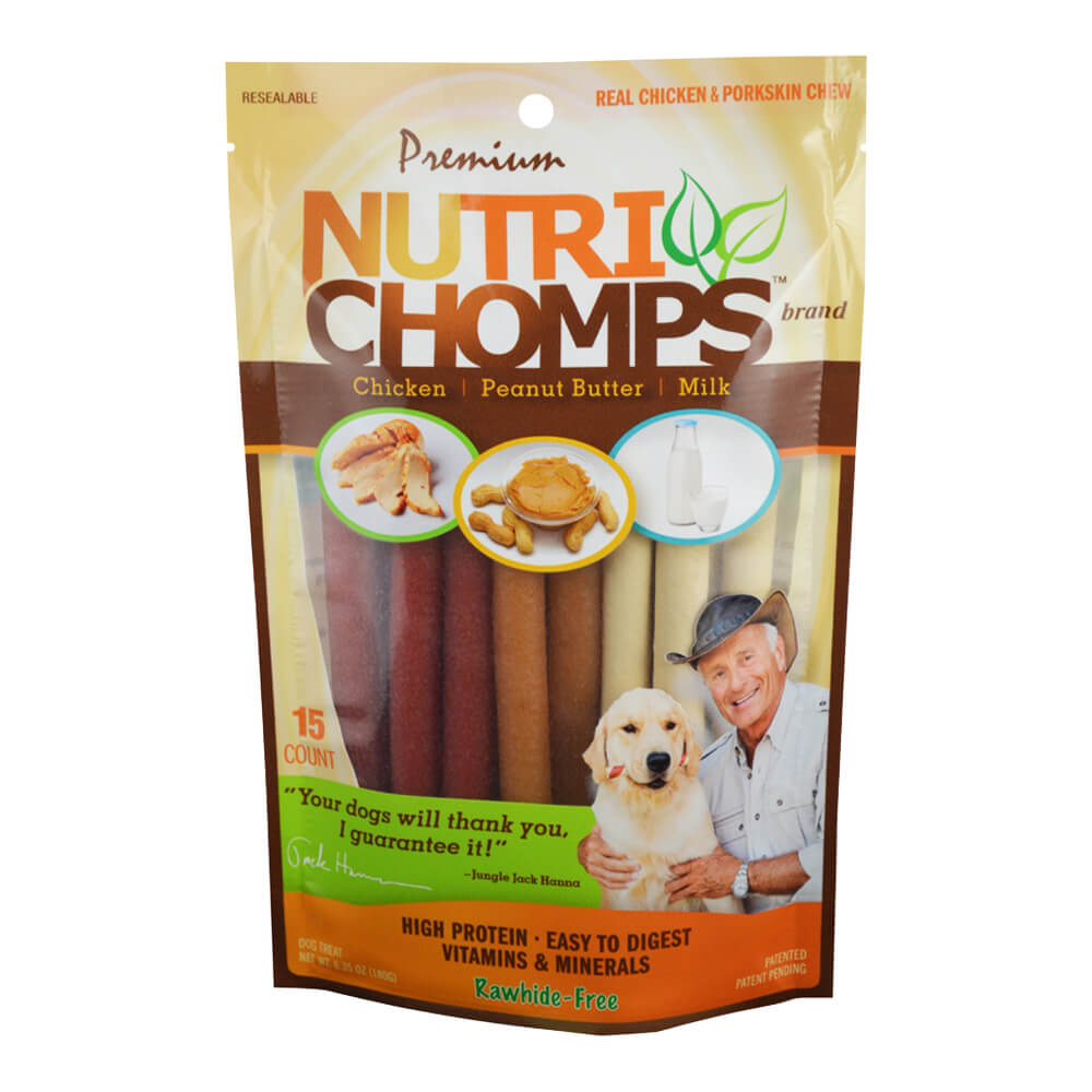 Premium Nutri Chomps, Mini Twist Variety Pack, 15ct