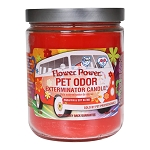 Flower Power Pet Odor Exterminator Candle 13 oz