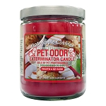 Pet Odor Exterminator Candle, Hot Apple Cobbler