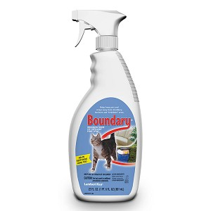 Boundary Indoor/Outdoor Cat Repellent Pump Spray